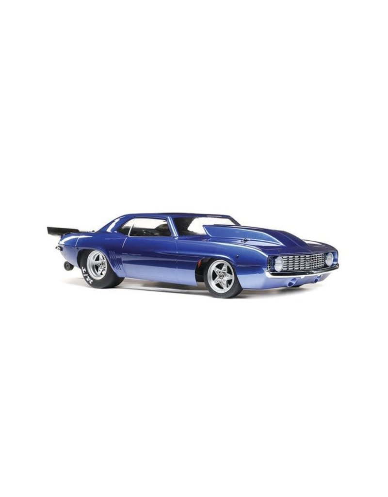 Losi Losi 1969 Camaro 22S No Prep Brushless Drag Car, RTR, Blue