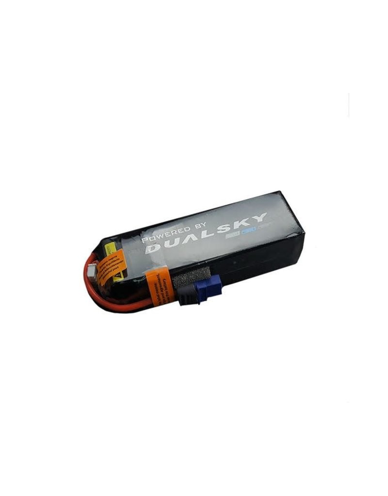 Dualsky Dualsky 2200mah 4S 14.8v 50C HED Lipo Battery with XT60 Connector