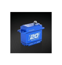 Power HD Power HD Blue Aluminium Standard Coreless 20kg 8.4v Steel Geared Waterproof Servo