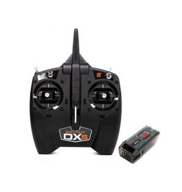 Spektrum Spektrum DXS 7 Channel DSM-X 2.4GHz Transmitter with AR410 Receiver, Mode 2