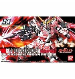 Bandai Bandai 5057399 1/144 HGUC RX-0 Unicorn Gundam (Destroy Mode)