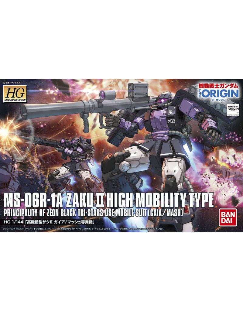 Bandai Bandai 5057732 1/144 HG MS06R-1A Zaku II High Mobility Type, Gaia/Mash (Custom)