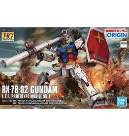 Bandai HG 1/144 RX-78- 02 GUNDAM (GUNDAM THE ORIGIN Ver.)