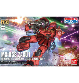 Bandai Bandai 5057736 1/144 HG MS-05S Char Aznable's Zaku I