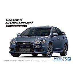 Aoshima Aoshima 005795 1/24 Mitsubishi CZ4A Lancer Evolution X Final Edition 2015