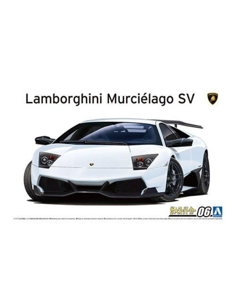 Aoshima Aoshima 005901 1/24 '09 Lamborghini Murcielago LP670-4 SV