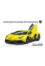 Aoshima 1/24 '13 Lamborghini Aventador 50' ANNIVERSARIO