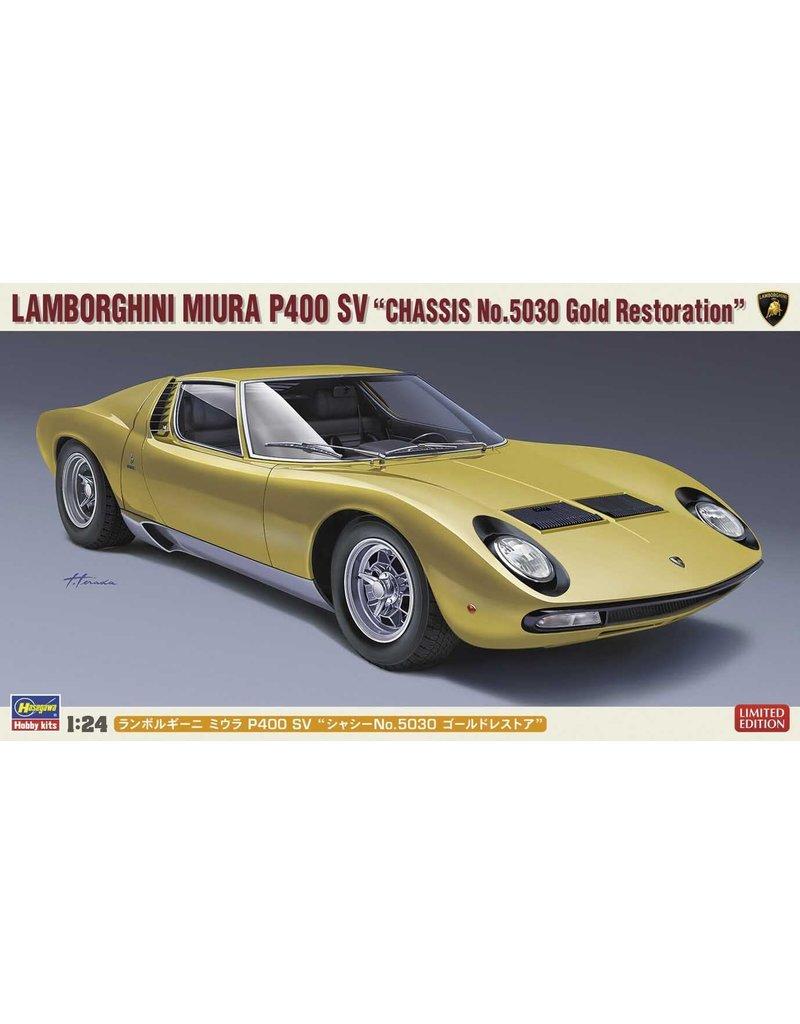 "Hasegawa Hasegawa 20319 1/24 Lamborghini Miura P400 SV ""Chassis No.5030 Gold Restoration"""
