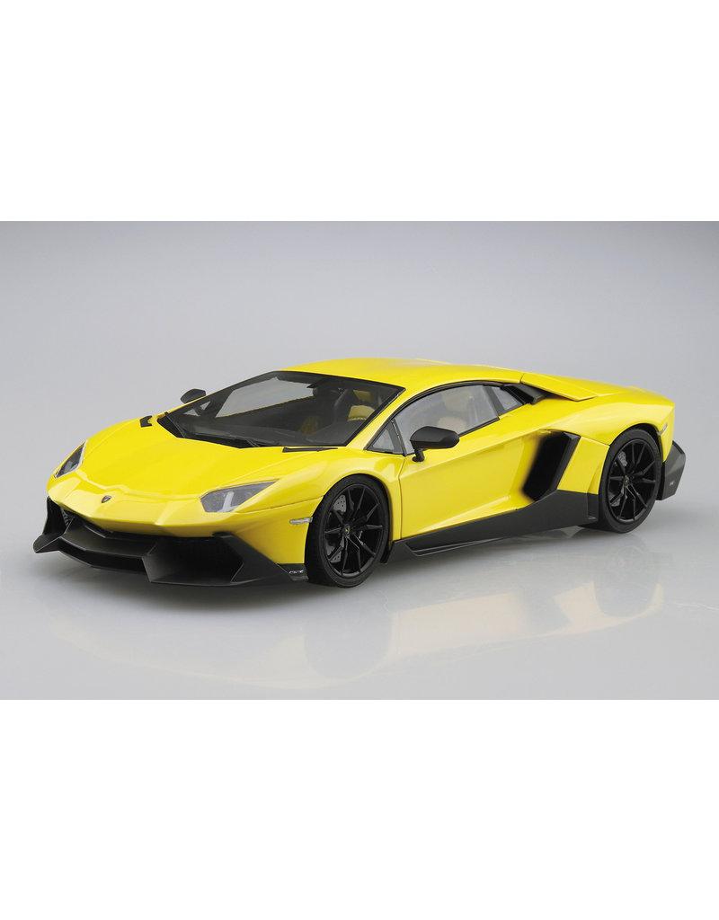 Aoshima Aoshima 005982 1/24 '13 Lamborghini Aventador (50th Anniversary)
