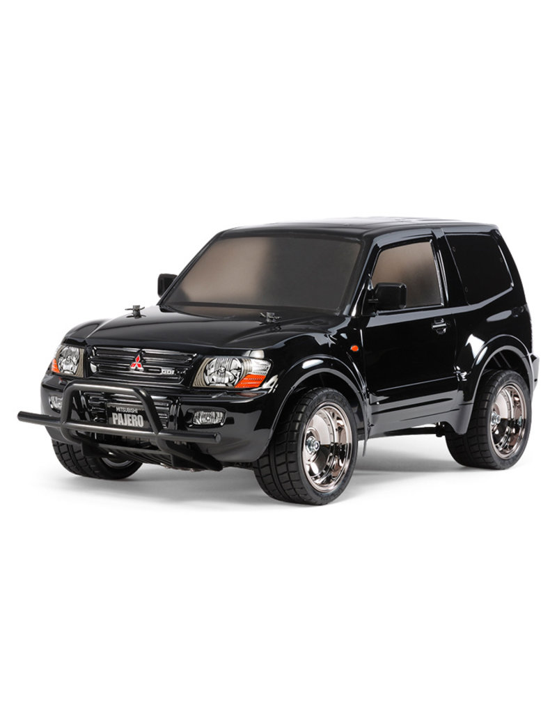 Tamiya Tamiya 1/10 R/C Mitsubishi Pajero Custom Lowrider Black