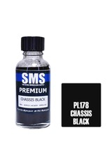The Scale Modellers Supply Premium Acrylic Lacquer CHASSIS BLACK 30ml