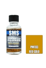 The Scale Modellers Supply Metallic Acrylic Lacquer RED GOLD 30ml