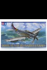 Tamiya Tamiya 61058 1/48 Douglas A-1H Skyraider U.S. Navy Fighter Plastic Model Airplane Kit