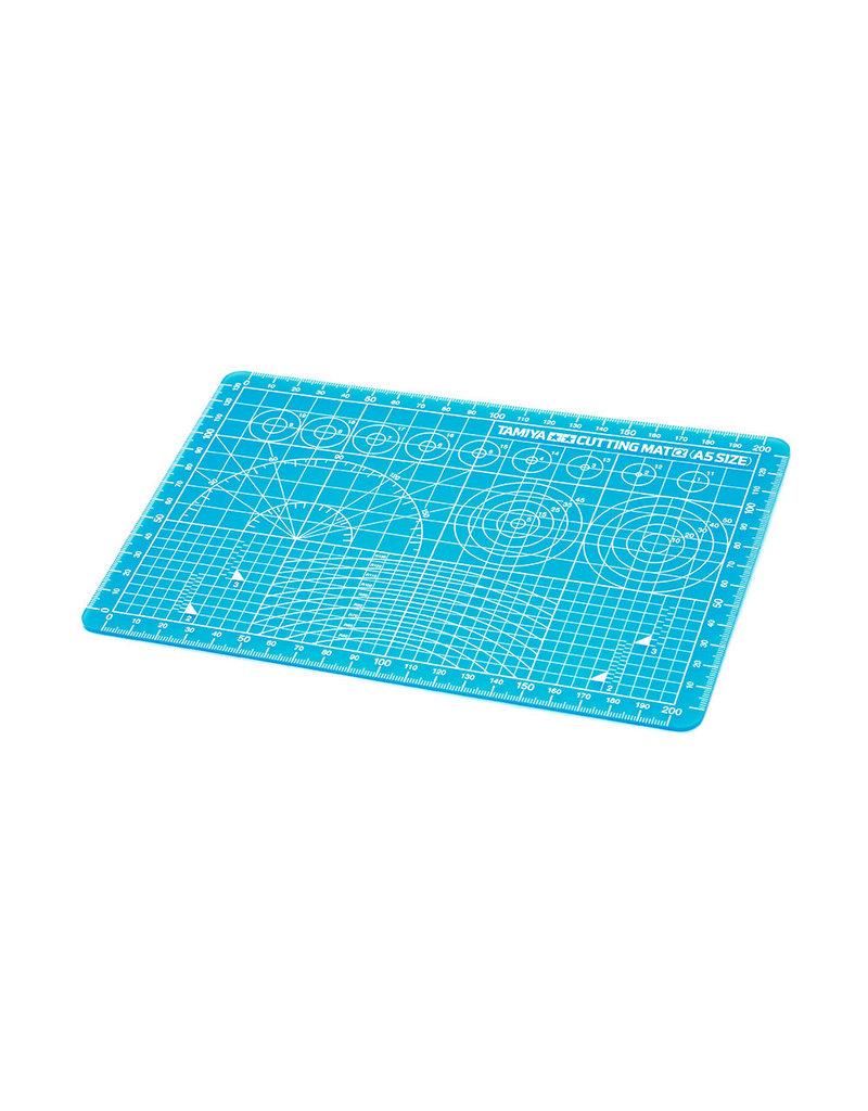 Tamiya Tamiya 74142 Blue Cutting Mat A5 Size