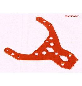 Rovan Rovan Orange Aluminium Front Upper Plate