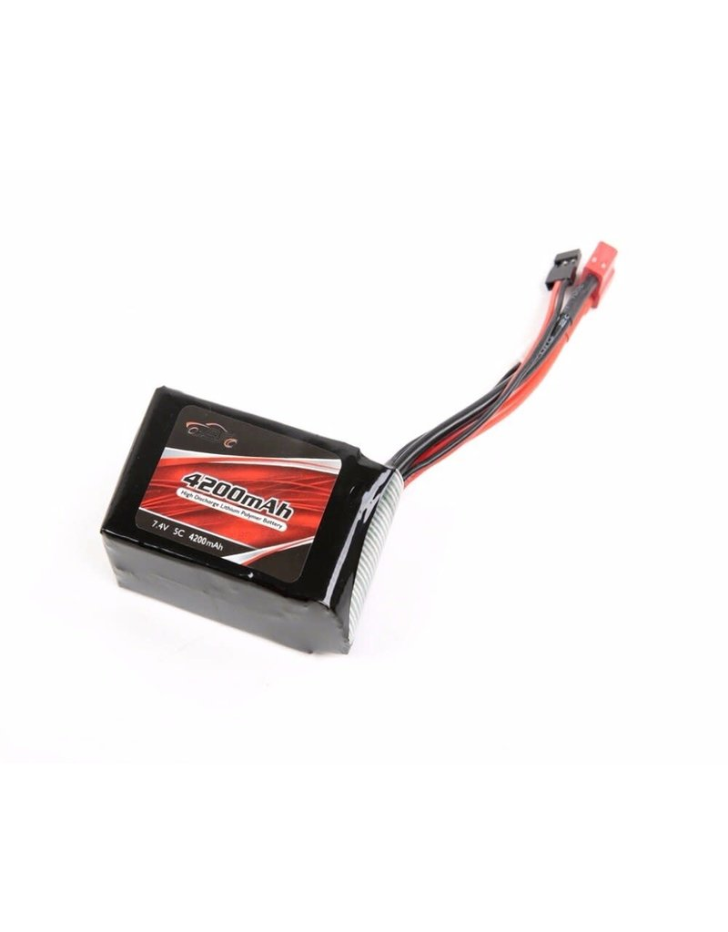 Rovan Rovan 7.4v 4200mAh RX LiPo Battery - Deans Connector