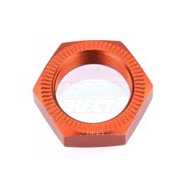 Rovan Rovan 18mm (24mm Hex) Orange Aluminium Serrated Wheel Nut - 1pc