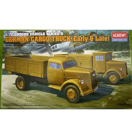 Academy 1/72 GERMAN CARGO TRUCK (EARLY & LATE) KIT