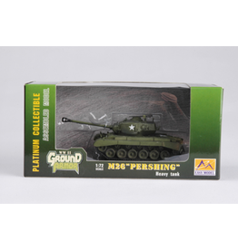 """Easy Model 1/72 M26 """"PERSHING"""" HEAVY TANK - NO.10 2ND ARMORED DIV. ASSEMBLED MODEL"""