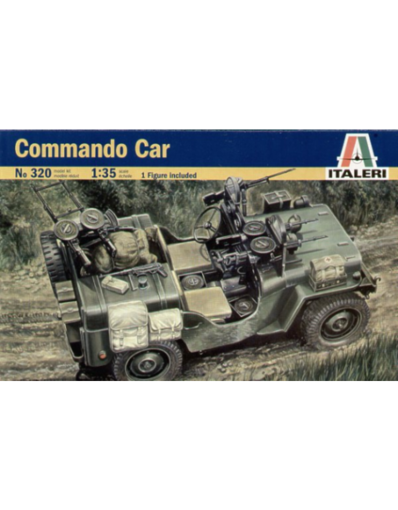 Italeri ITALERI 1/35 COMMANDO CAR