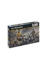 Italeri ITALERI 1/35 DDAY U.S. MOTORCYLES WWII