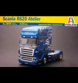Italeri ITALERI 1/24 SCANIA R620 ATELIER TRUCK KIT