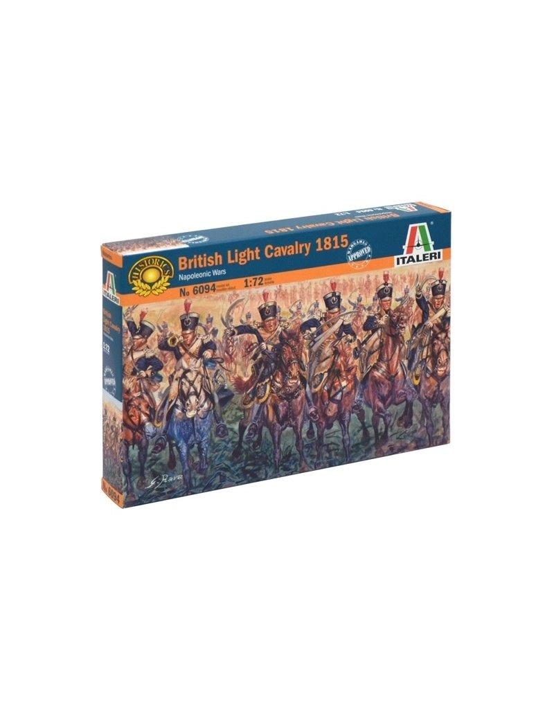 Italeri ITALERI 1/72 BRITISH LIGHT CAVALRY 1815 NAPOLEONIC WARS