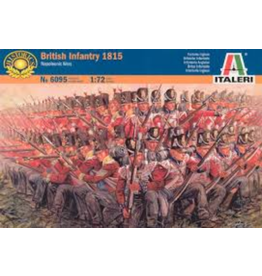 Italeri ITALERI 1/72 BRITISH INFANTRY 1815 NAPOLEONIC WARS