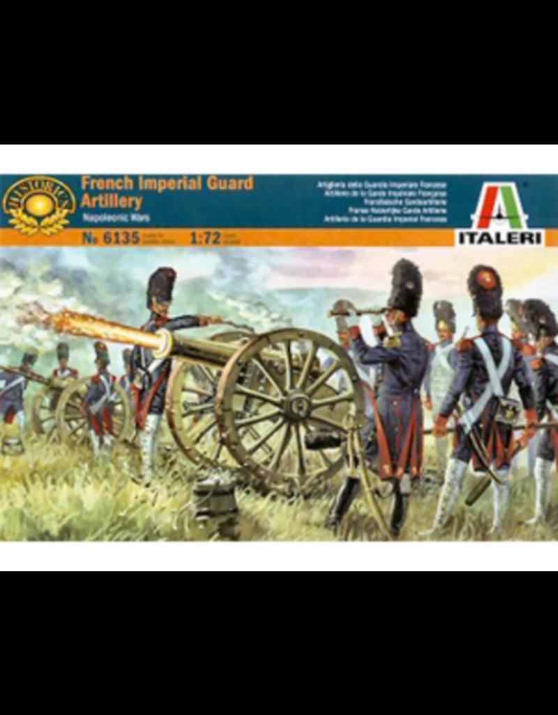 Italeri ITALERI 1/72 FRENCH IMPERIAL GUARD ARTILLERY-NAP WARS