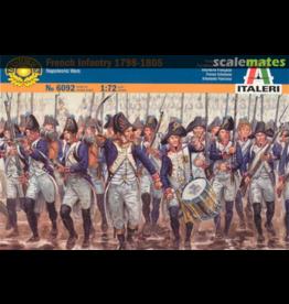 Italeri ITALERI 1/72 French Infantry 1798-1805