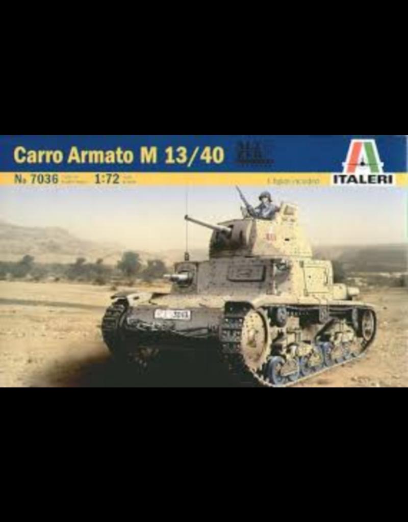Italeri ITALERI 1/72 CARRO ARMATO M13/40