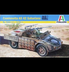 Italeri Italeri 1/72 Camionetta AS 42 Sahariana