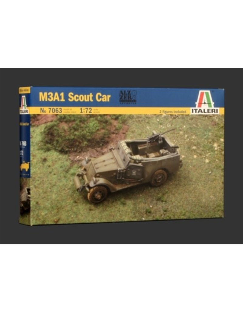 Italeri Italeri 1/72 M3A1 SCOUT CAR