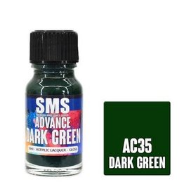 The Scale Modellers Supply SMS Advance DARK GREEN 10ml