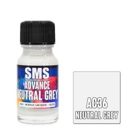 The Scale Modellers Supply SMS Advance NEUTRAL GREY 10ml