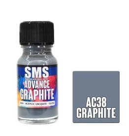 The Scale Modellers Supply SMS Advance GRAPHITE 10ml