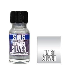 The Scale Modellers Supply SMS Advance SILVER 10ml