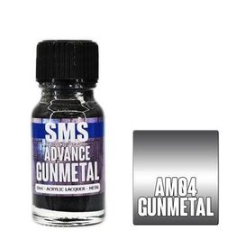 The Scale Modellers Supply SMS Advance GUNMETAL 10ml