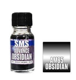 The Scale Modellers Supply SMS Advance OBSIDIAN 10ml