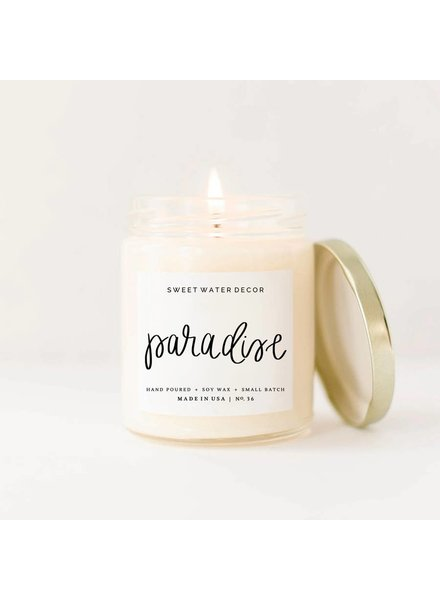 Sweet Water Decor Paradise Soy Candle