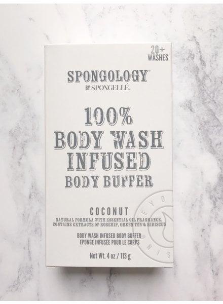 Spongelle Infused Body Buffer Coconut
