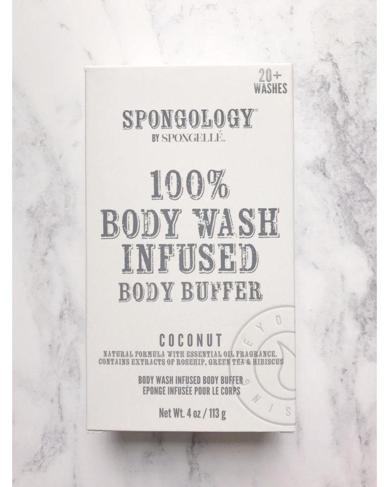Spongelle Infused Body Buffer Coconut