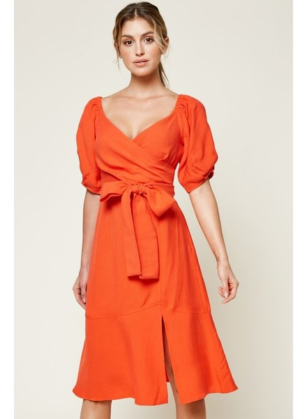ABeauty by BNB Off The Shoulder Balloon Sleeve Dress