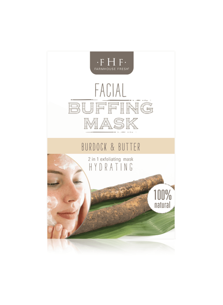 Farmhouse Fresh Burdock Root & Butter Facial Buffing Mix
