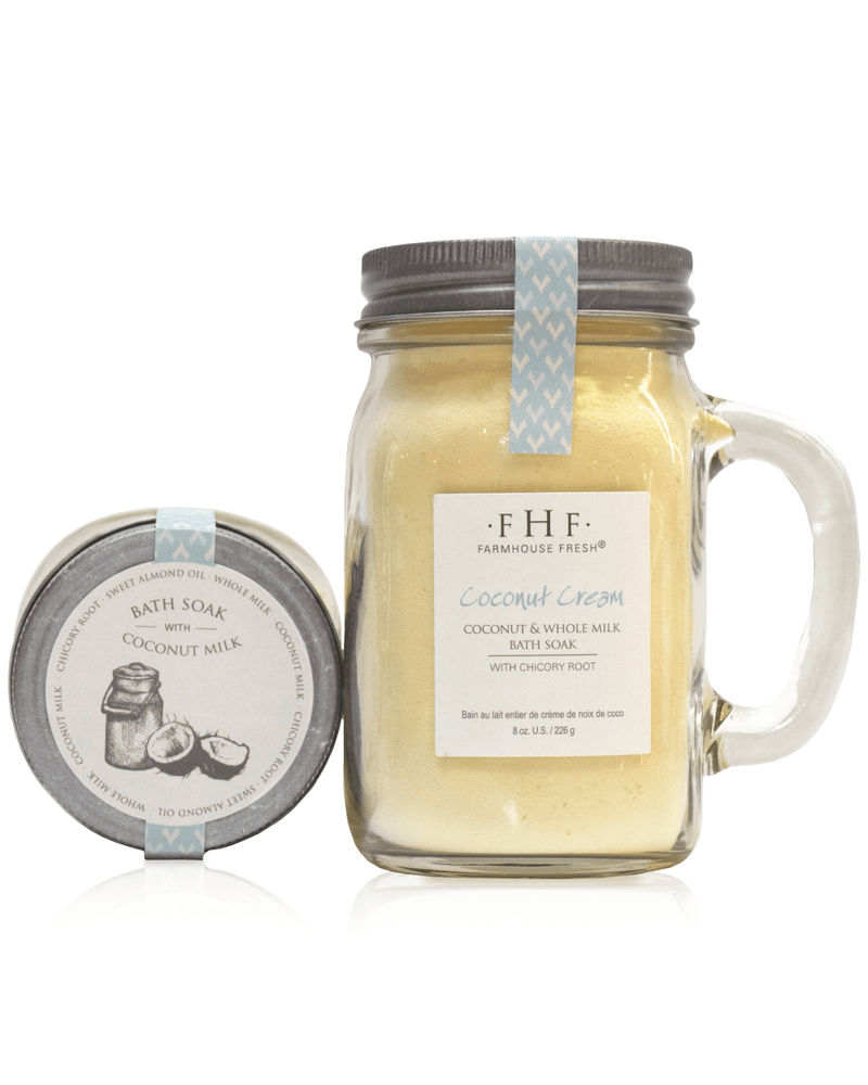 Farmhouse Fresh Coconut Cream Powder Milk Bath Soak