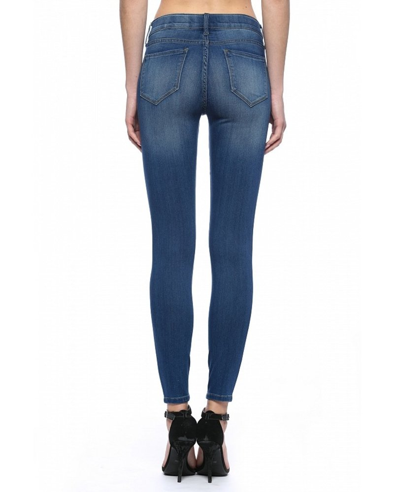 Cello Jeans Mid Rise Pull On Denim