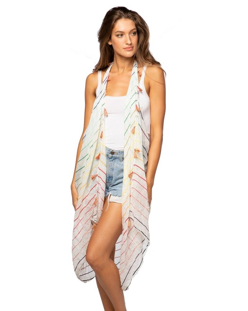Subtle Luxury Rainbow Magic Free Spirit Vest
