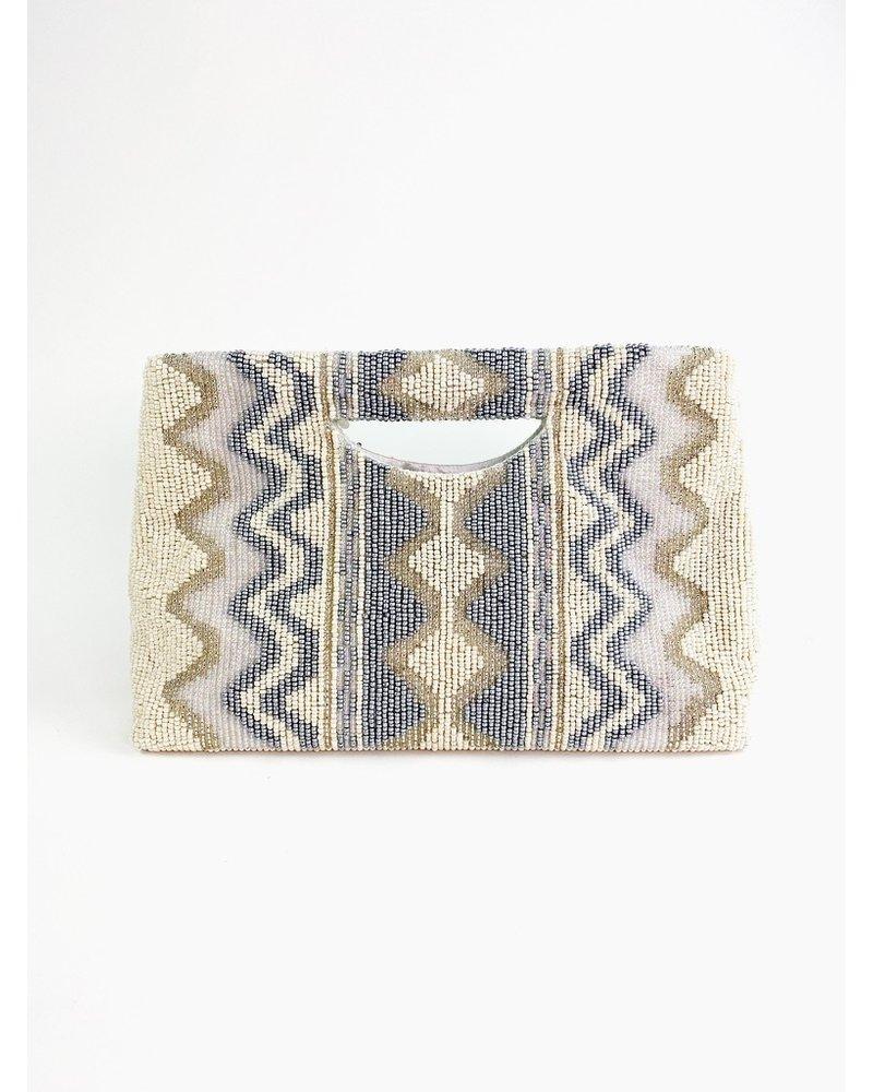 Tiana Designs Chloe Hand-Beaded Clutch
