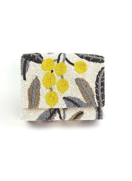Tiana Designs Hand Beaded Box Bag