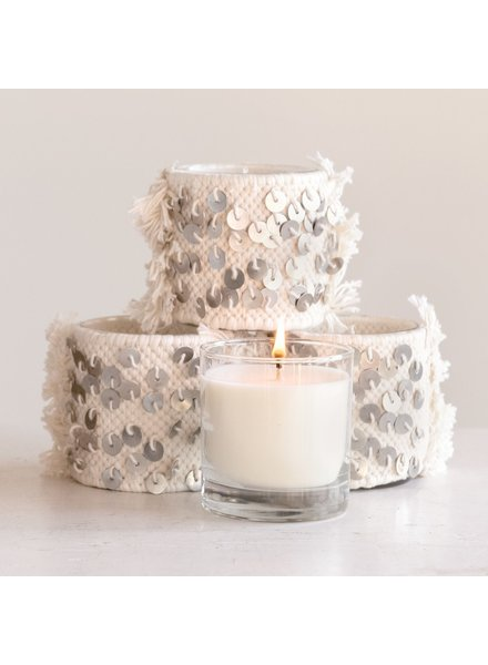 Creative Co-op 7oz Rosemary Mint Candle